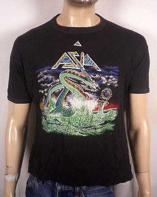 7.11 1982-asia-band-concert-t-shirt