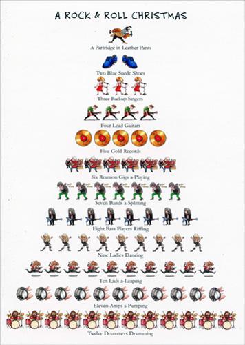 cd9117-rock-n-roll-christmas-christmas-tree