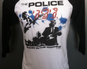The Police - Ghost in the Machine tour shirt