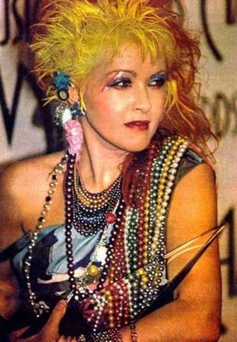 7.11 Cyndi Lauper 80s