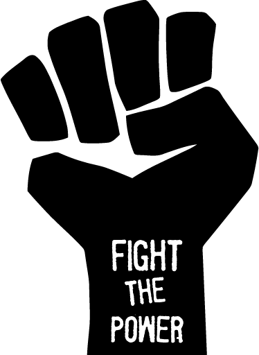 8.25 fight-the-power-wall-sticker-3903