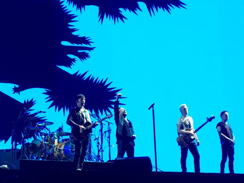 9.12 U2 at end of Joshua Tree