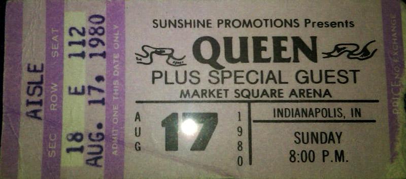 9.15 Queen concert 1980-08-17