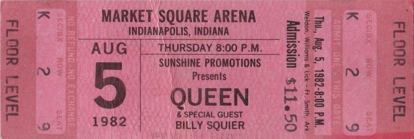 9.15 Queen Concert 2 1982-08-05