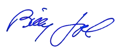 10.19 billy joel signature