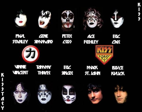 10.25 all time KISS band members