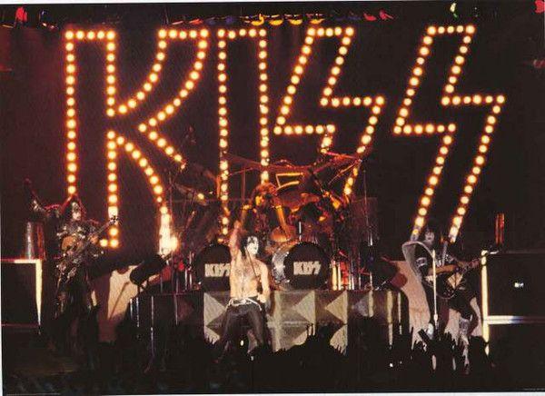 10.25 KISS vintage concert