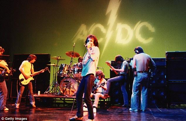 ACDC Live 1977