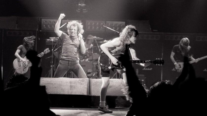 ACDC Live 1980s