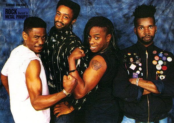 2.22 living colour publicity photo 1988