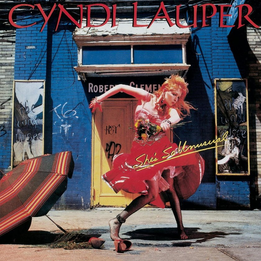 2.26 cyndi lauper - she's so unusual