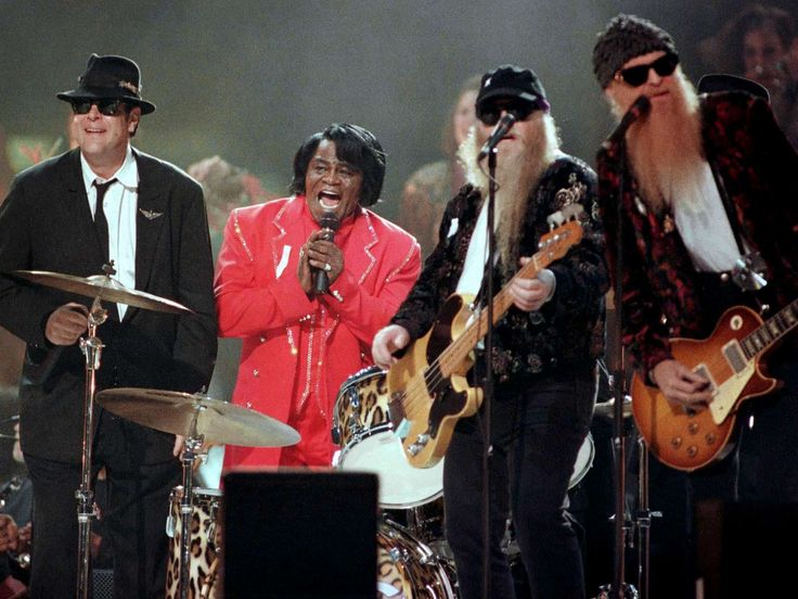 2.5 blues brothers james brown zz top