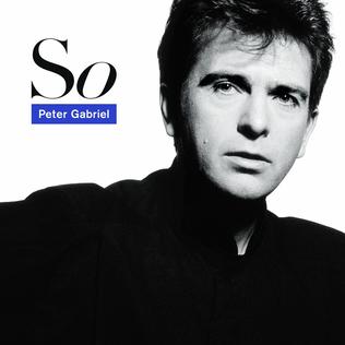 21. Peter Gabriel - So