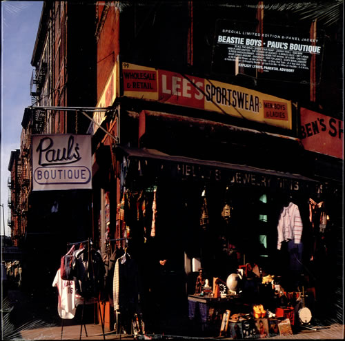 5.25 1.Beastie Boys - Paul's Boutique