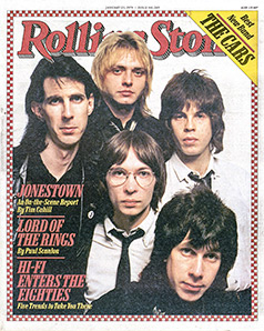 5.31 The Cars Rolling Stone cover 1979