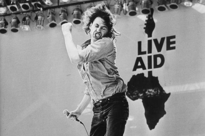 7.14 Live Aid Bob Geldof