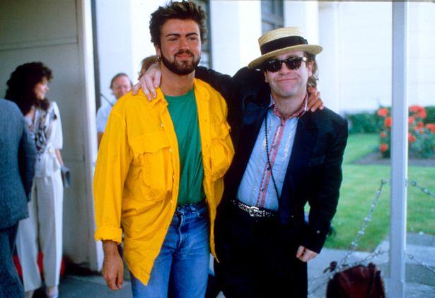7.14 Live Aid George Michael and Elton John