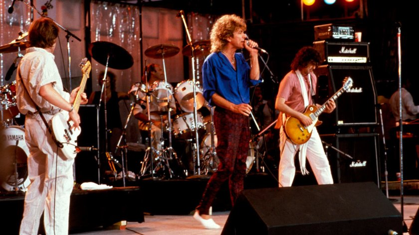 7.14 Live Aid - Led Zeppelin