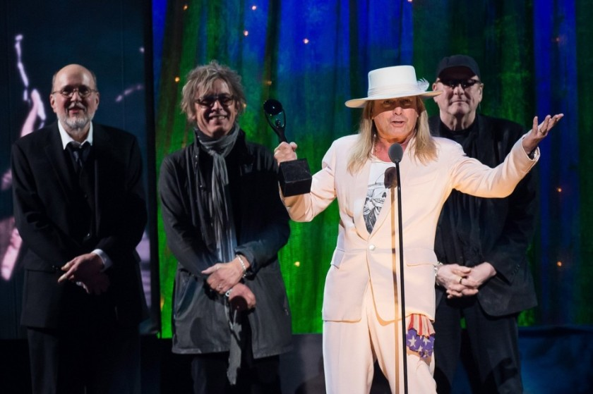 7.19 Cheap Trick at RRHOF Induction