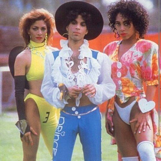 7.2 Sheila E, Prince and Cat 1988 Lovesexy tour