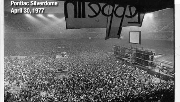 9.19 Led Zeppelin at Pontiac Silverdome