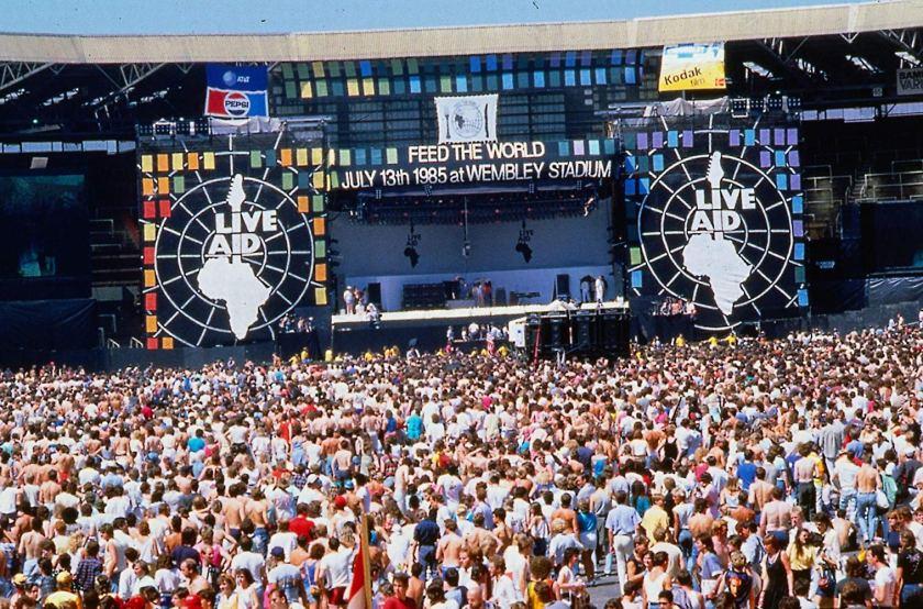 9.19 Live Aid - Wembley