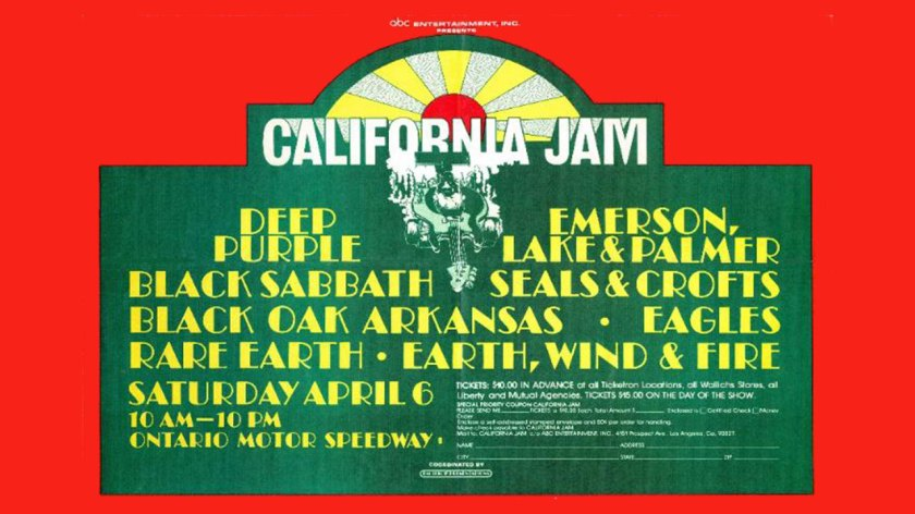 9.20 California Jam Poster