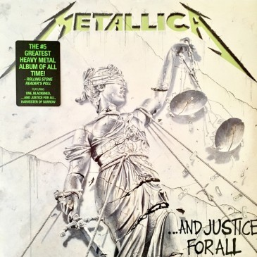 9.20 Metallica - And Justice for All