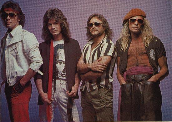 10.16 87.Van Halen