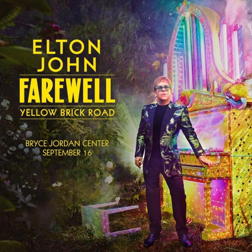 10.24 Elton John Farewell Tour