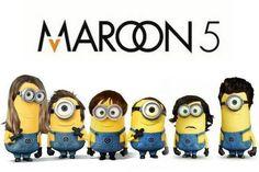 11.16 Maroon 5 Minions