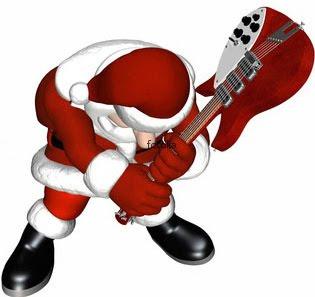 12.10 Santa Smashes Guitar