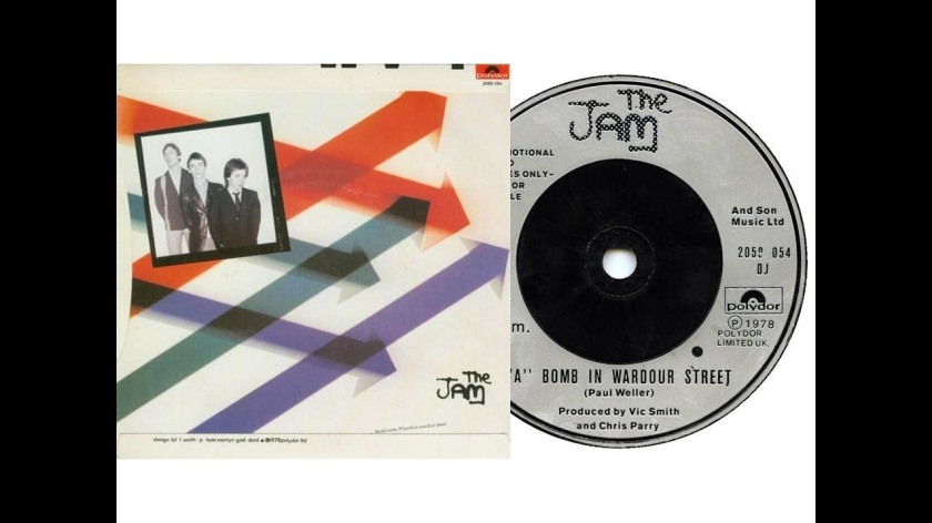 1.22 the jam - a bomb in wardour street