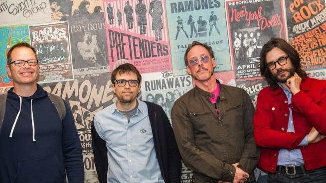 2.26 Weezer Black Album Release Photo