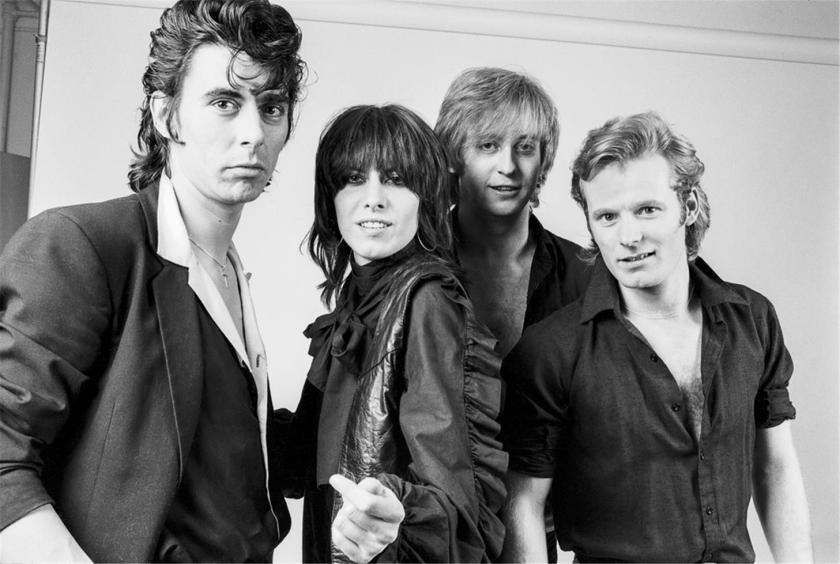 3.28 Pretenders group studio NEW YORK CITY, 1980996