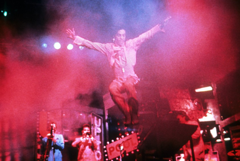 Sign 'o' the Times (1987) Directed by Prince Shown (leaping): Prince