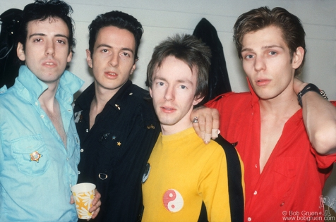 Clash & Jones, Mick & Strummer, Joe & Headon, Topper & Simonon,