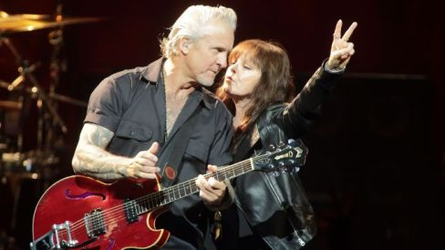 Pat Benatar in concert at the Hart Theatre at The Egg, Albany, America - 29 Apr 2015