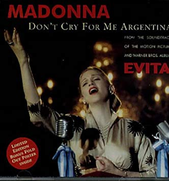 11.7 40.Don't Cry for Me Argentina