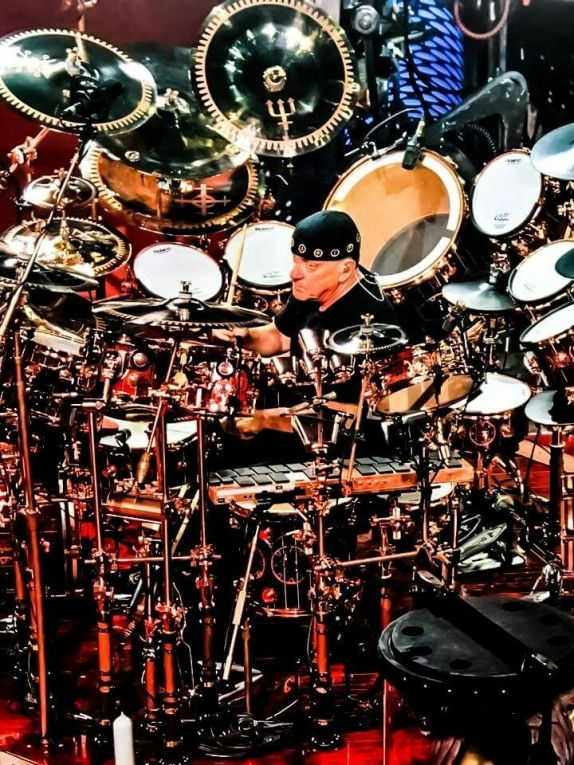 1.13 neil peart drum set