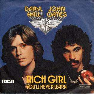1.22 10.Rich Girl - Hall & Oates