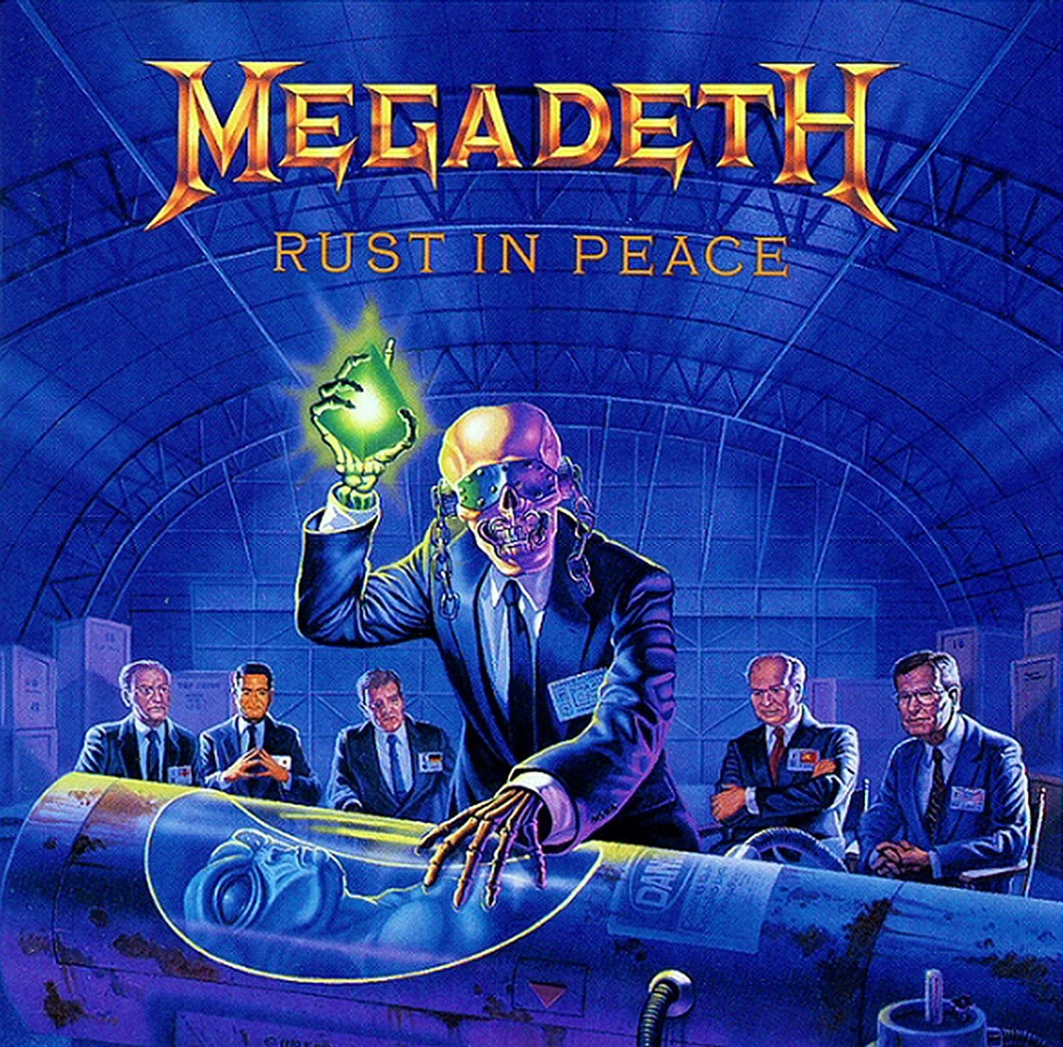 9.10 Megadeth - Rust in Peace