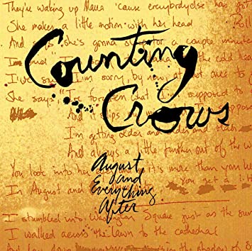 9.21 Counting Crows - August and Everything After